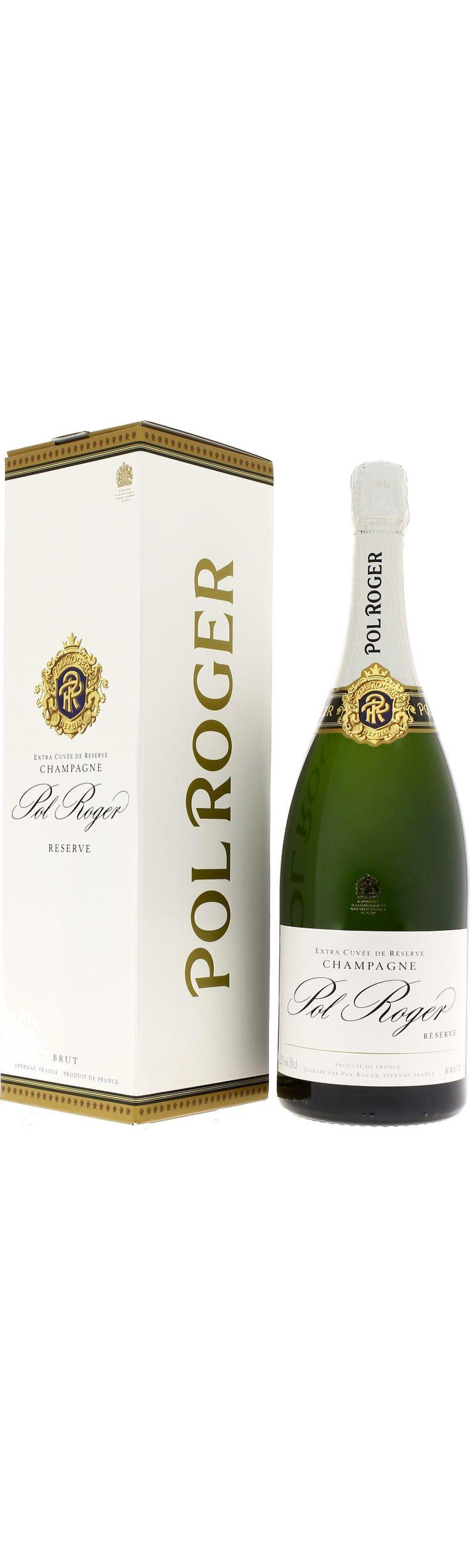 POL ROGER BRUT RESERVE MAGNUM - achat/vente de Champagne