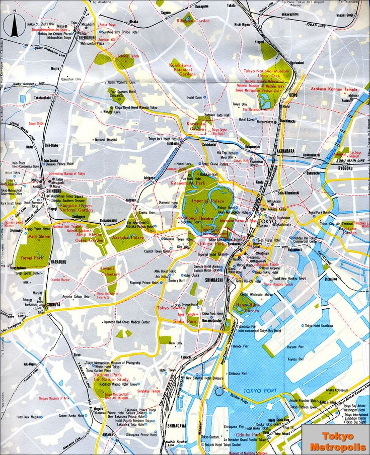 Best Tokyo Tourist Map Ideas On Pinterest Visit Japan Tokyo - Tokyo map for tourists