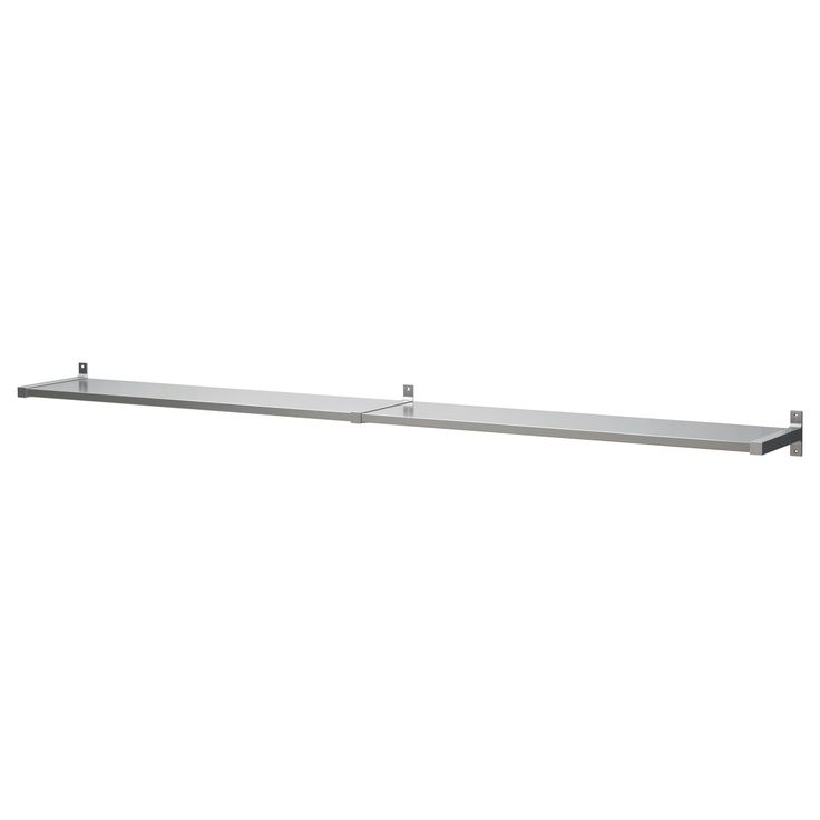 ekby mossby ekby bjrnum wall shelf stainless steel wall