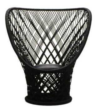 contemporary rattan armchair PAVO REAL by Patricia Urquiola DRIADE (https://www.pinterest.com/AnkAdesign/collection-6/)