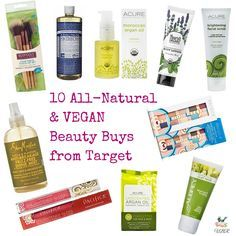 Calling all-natural beauty bunnies, did you know there's a slew of cruelty-free, vegan-friendly, AND non-toxic beauty options at Target?! Kind of the best new evah, amiright? I ♥ Target because their stores are accessible – you don'y have to live near a health food store to purchase good-for-you makeup and skincare anymore. WOOT!! 10 All-Natural and VEGAN … Read More →