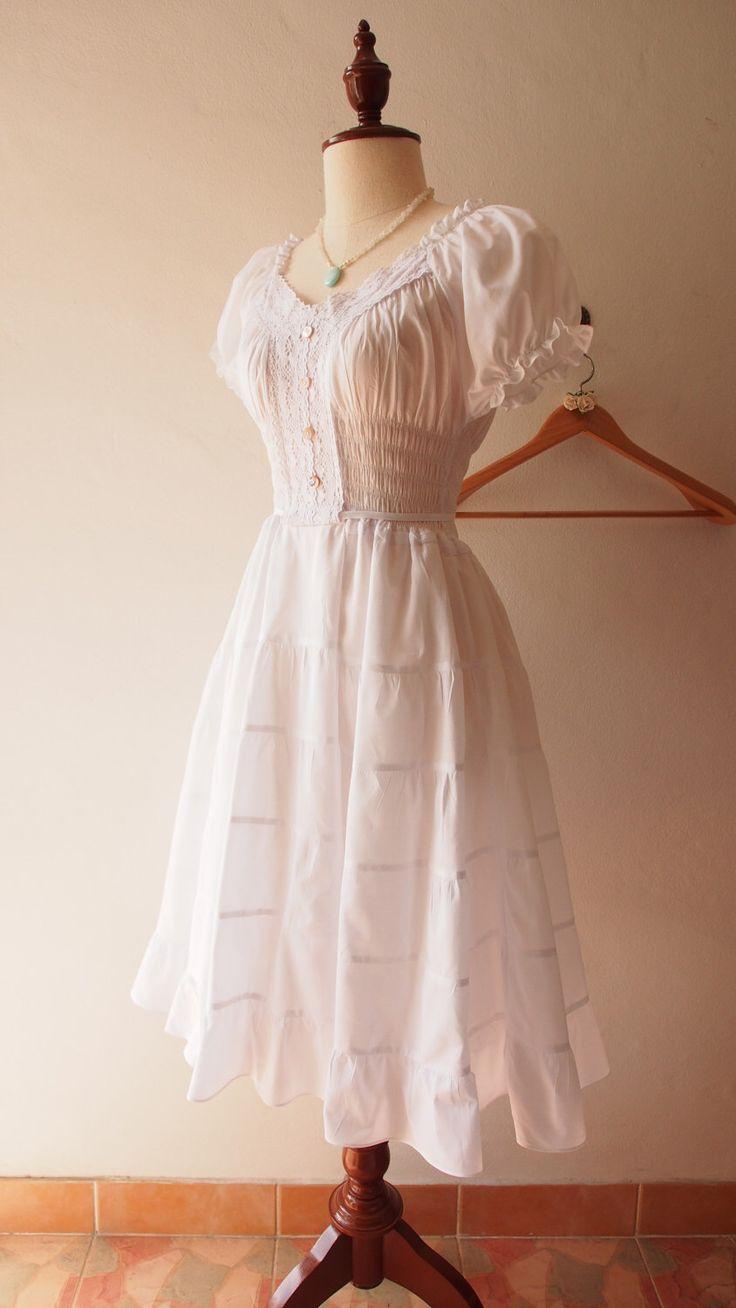 Juliet tiered dress white long dress boho bohemian