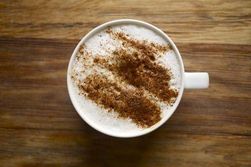 Steamet mandelmelk – super i kaffe!