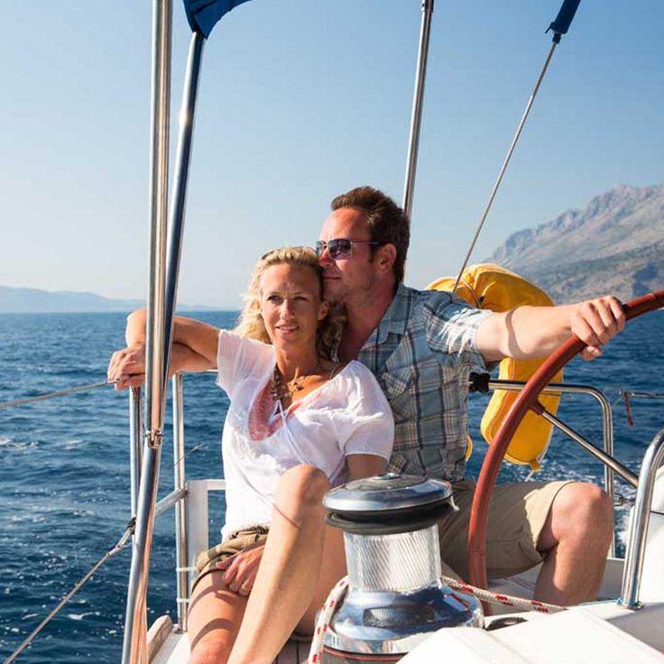 Romantisch zeilen vanaf Rhodos | Romantic sailing from Rhodes | Sail in Greece Rhodes | sail-in-greece.net