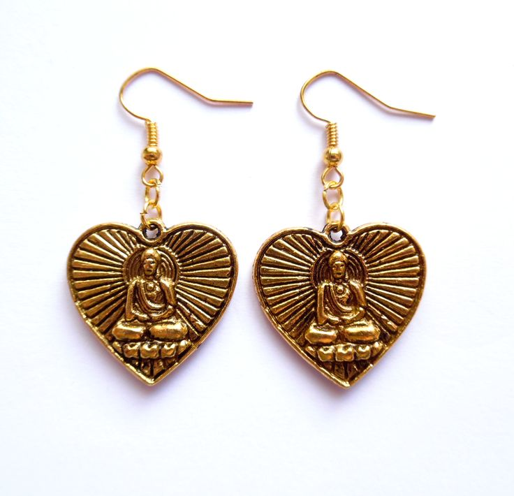 Örhängen med Buddha från http://ladyofthelake.se  #smycken #örhängen #buddha #shopping