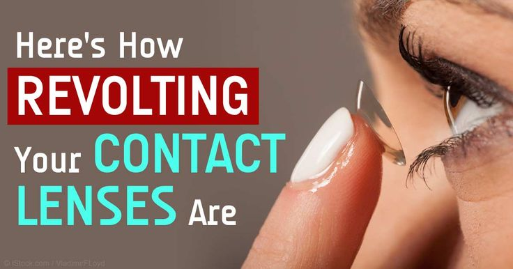 health article wearing contact lenses destroy eyesight