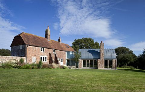 farmhouse-extension-barrel shaped roof