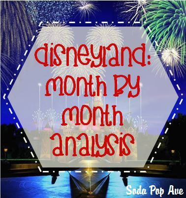 Disneyland: Month by Month Analysis showing the weather, number of people in the park, if rides and shows are often closed or not showing, and if hours are short or long. Great info for every month! www.SodaPopAve.com