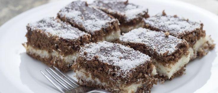 Recept: Tejszínes-kókuszos házi süti fél óra alatt