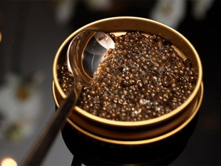 The Beluga Caviar....the most expensive caviar in the world