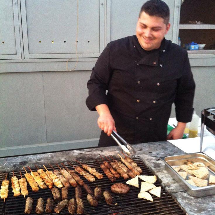 Yiannis @ Horizon Blu's Friday BBQ Buffet