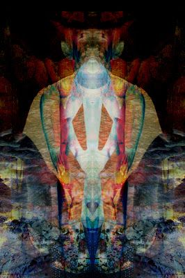New Abstract: Rituals Set I, Doorway to the Other #Abstract #Art #Spiritual #Magick #Sigil
