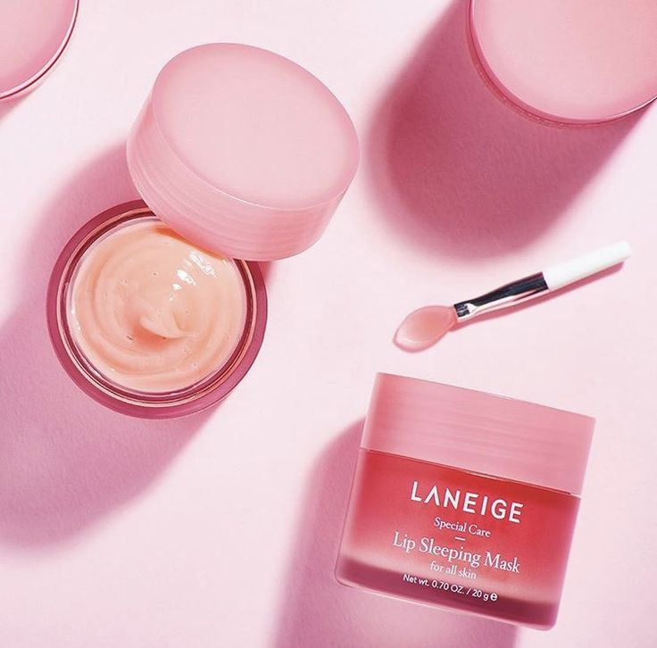 The perfect product for long-haul flights: Laneige Lip Sleeping Mask 💓