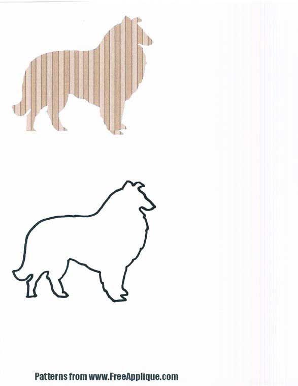 DOG trapunta modelli «Patterns gratuiti