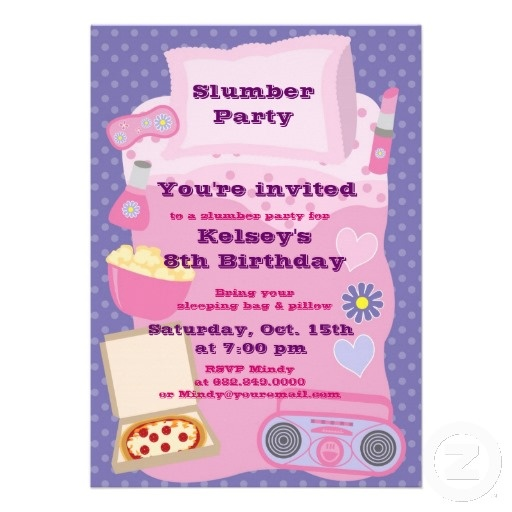 135 best Girls parties images on Pinterest Birthday party ideas - best of birthday invitations sleepover party