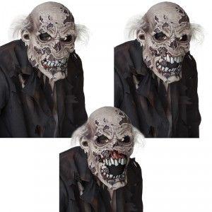 Très réaliste, ce masque de zombie articulé suit le mouvement de votre propre…
