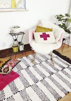 Weave Your Own Rug http://www.abeautifulmess.com/2013/03/woven-rug-diy.html