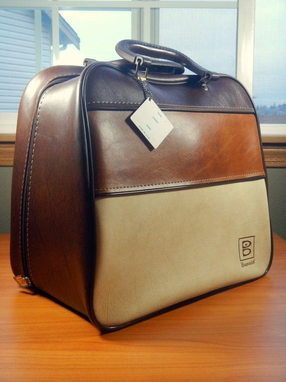 Vintage Brunswick Bowling Ball Bag By Midmodery On Etsy
