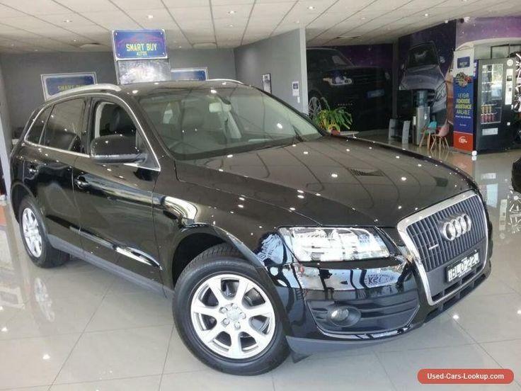 2009 Audi Q5 8R MY10 2.0 TFSI Quattro Black Automatic 7sp A Wagon #audi #q5 #forsale #australia