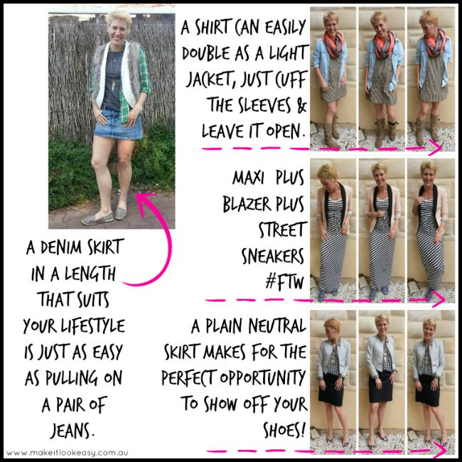 Ideas for getting more wear from your skirts