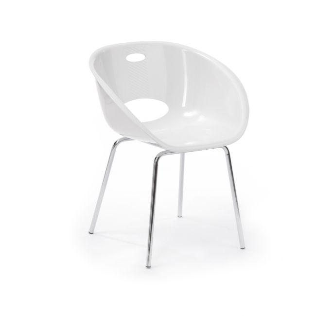 Strasbourg stol - Vit - TheHome - Möbler på nätet