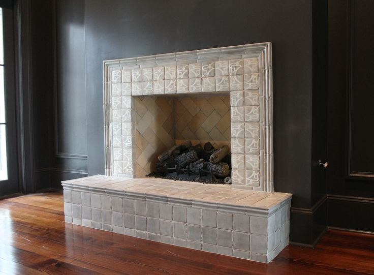 29 Best Images About Fireplace Surround Terra Cotta Tiles
