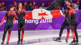 For Canada's short track speed skating team, the end of an era and the beginning of a new one has...