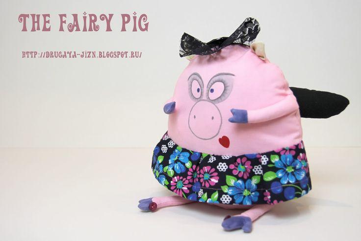 Медитация с иглой и пяльцами...: Свинская фея/The Fairy Pig