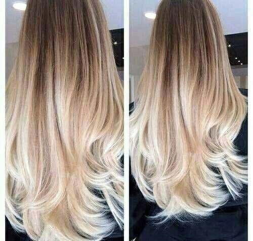 Resultado de imagem para californiana platinada cabelo liso