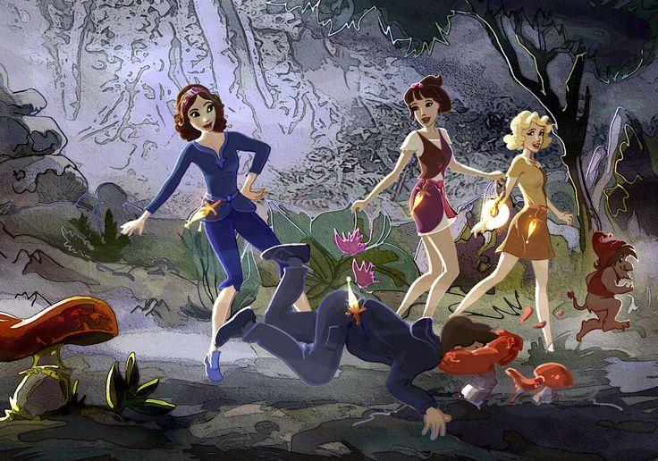 ...returning to Kierlots, Tobbi trips and falls head first into a slimy mushroom