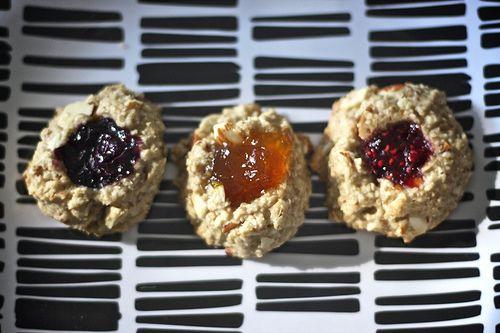 vegan thumbprint cookiesDesserts Recipe, Cookies Bar, Vegan Thumbprint Cookies, Vegan Desserts, Life Changing, Vegan Sweets, Sweets Tooth, Life Change, Vegan Cookies