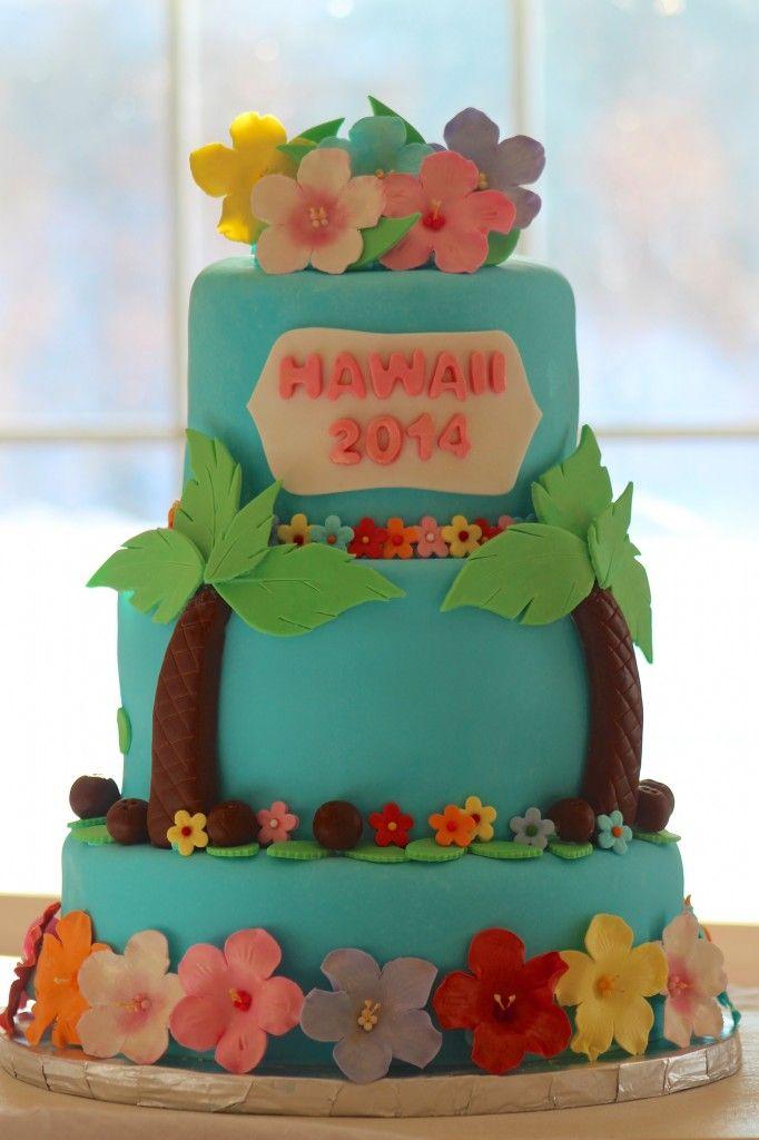 Hawaiian Cake-Icing Smiles and Make a Wish