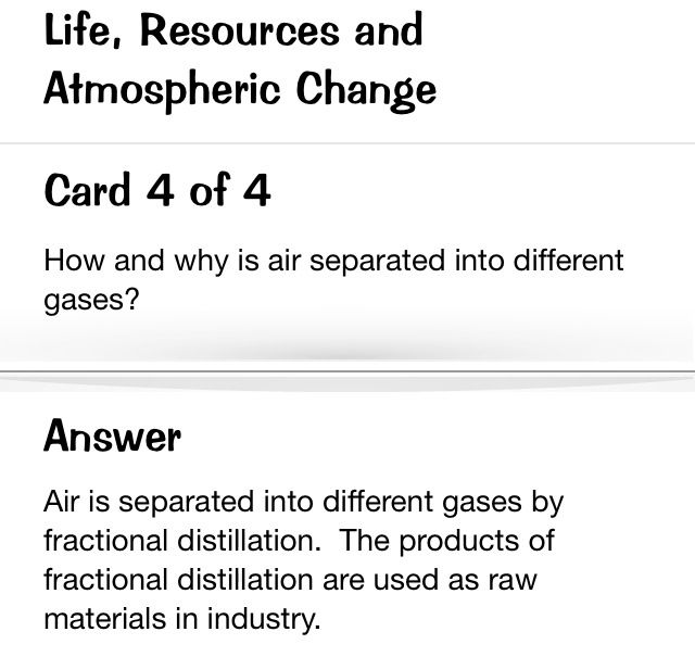Fractional distillation of liquid air.