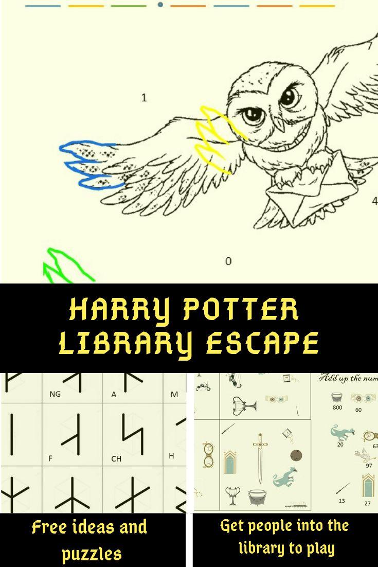 Harry Potter Library Escape