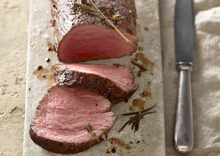 Chateaubriand wird aus dem Kopf oder der Mitte des Rindsfilets geschnitten.