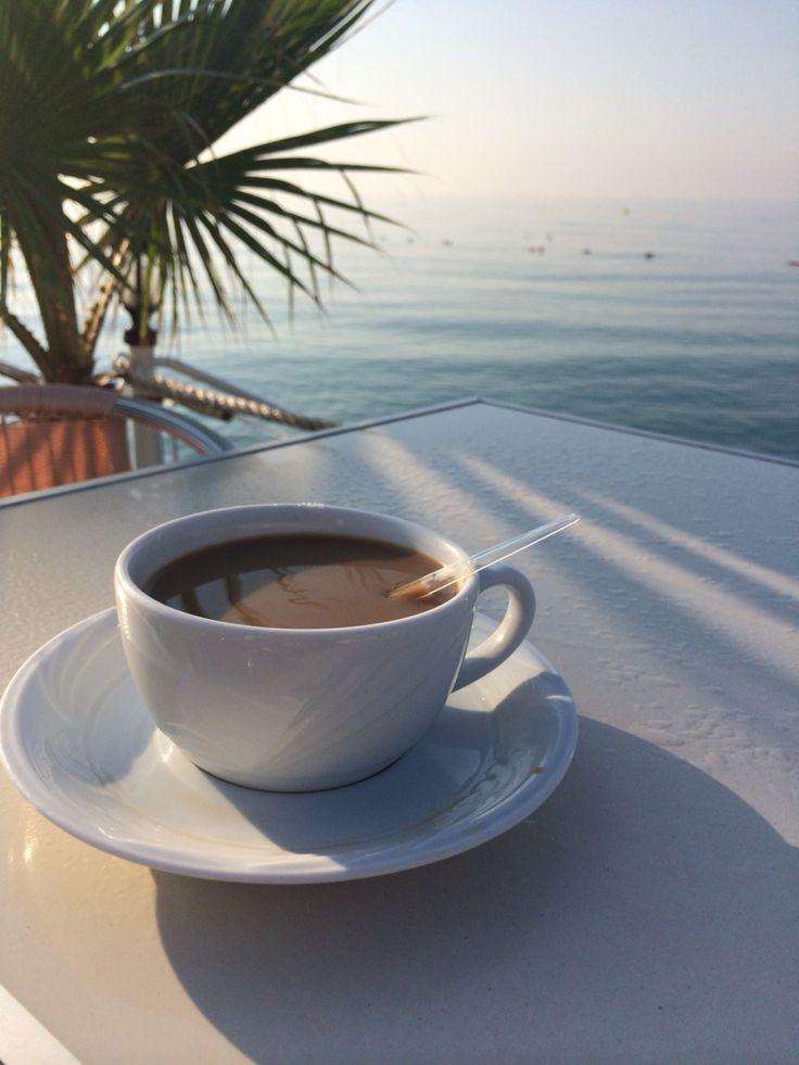 Картинки с пальмой и кофе доброе утро, лучшему руководителю днем