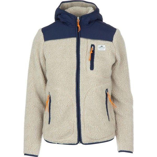Womens fleece jacket with drawstring waist