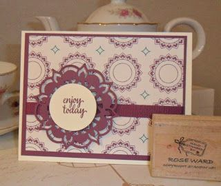 Rubber Rosie: New Stampin Up Eastern Palace Samples !! 2017-1201...