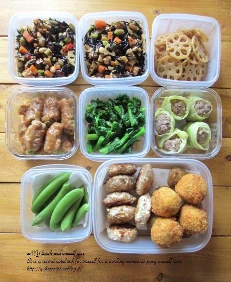 イエシゴトVol.39 週末の常備菜作り : YUKA'sレシピ♪