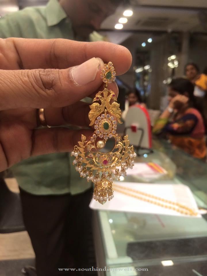 Big Chandbali Earrings with weight