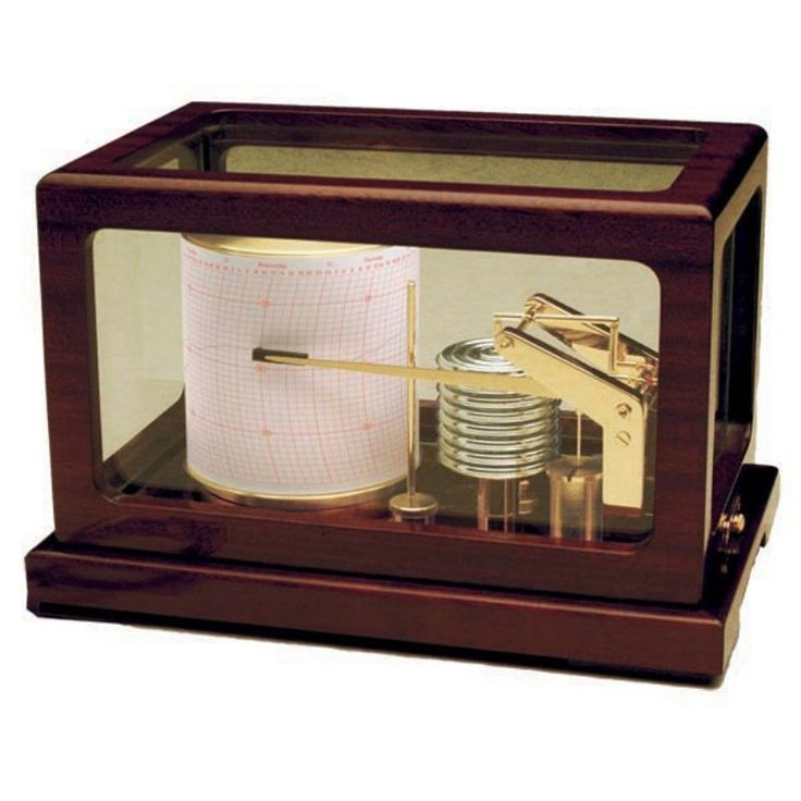Weems and Plath Dampened Deluxe Quartz Barograph - 410-D