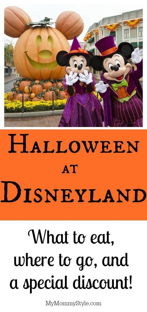 Everything You Need to Know about Disneyland at Halloween Time My