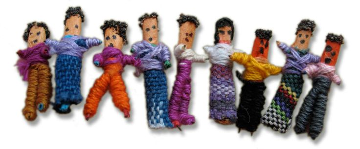 Muñecos Quitapenas from Gustemala