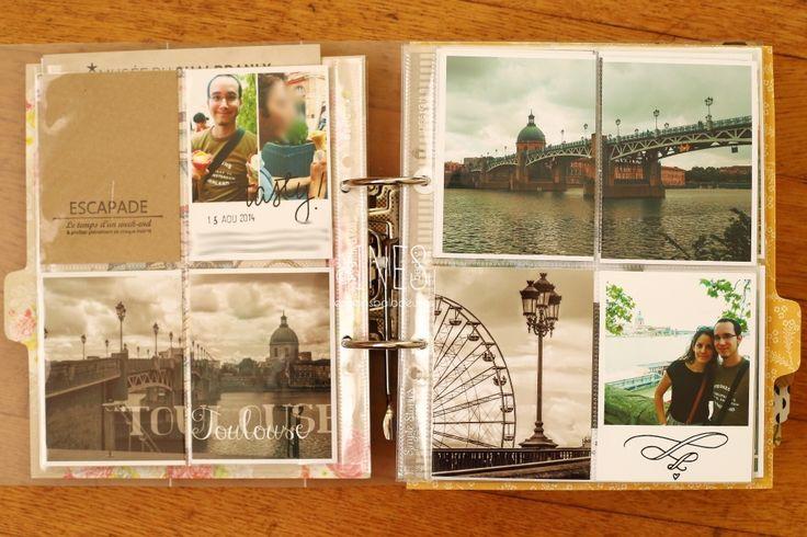 Les Mains Baladeuses Project Life scrapbooking 2014 August / Août, Toulouse https://www.facebook.com/lesmainsbaladeuses