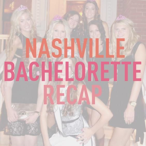 Nashville Bachelorette Recap: Boots, Bars & Bluegrass  Read how bride-to-be Courtney and her I Do Crew spent their weekend in Nashville, where they stayed, and how much it cost.