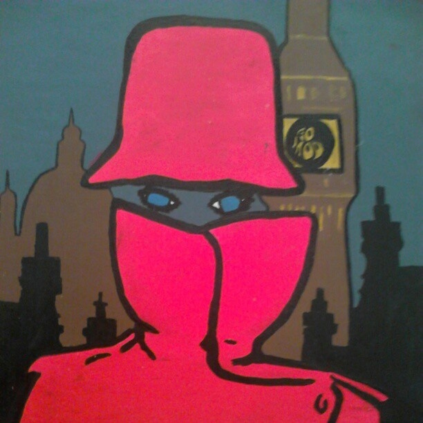 "@slinky_sleer's photo: ""#london #mypainting. #painting"""