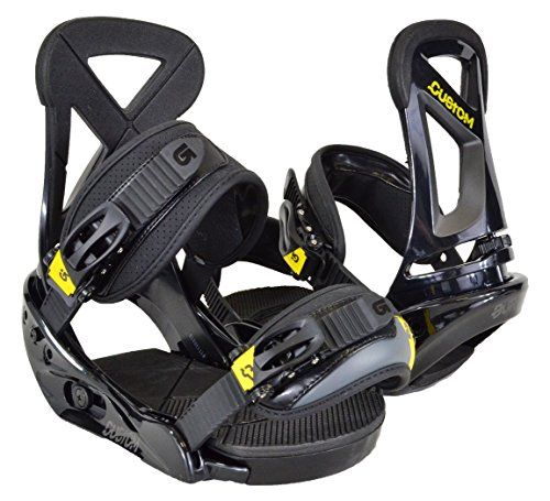 Burton Custom Snowboard Binding Black S *** Want additional info? Click on the image.
