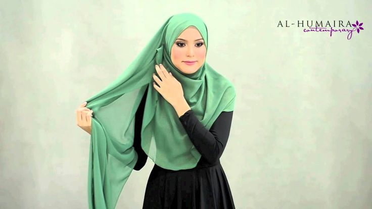 BETSY shawl styling tutorial by Al-Humaira Contemporary