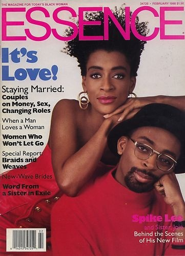 Can I get a copy of this though?? :-) Essence Magazine: Spike Lee & Joie Lee, February 1988