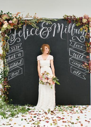 floriculture: chalkboard details